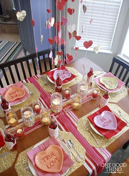 Magnificient Valentines Day Table Decorating Ideas33