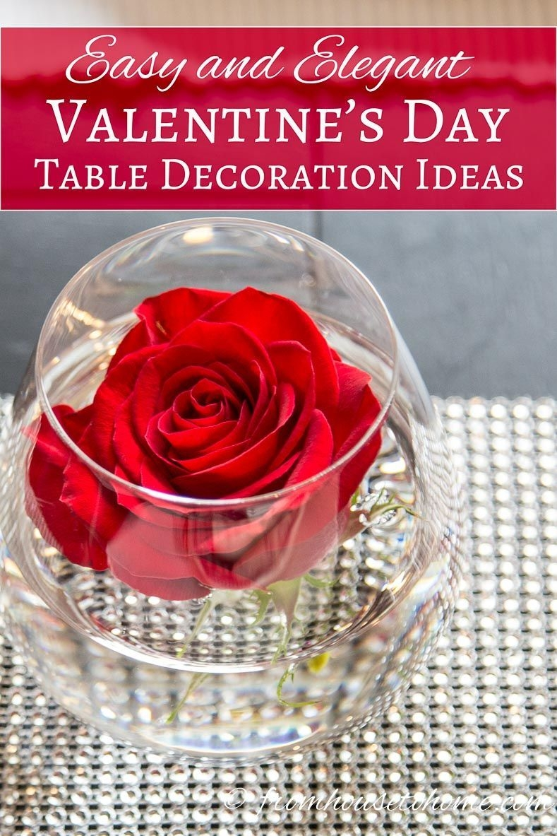 Magnificient Valentines Day Table Decorating Ideas35