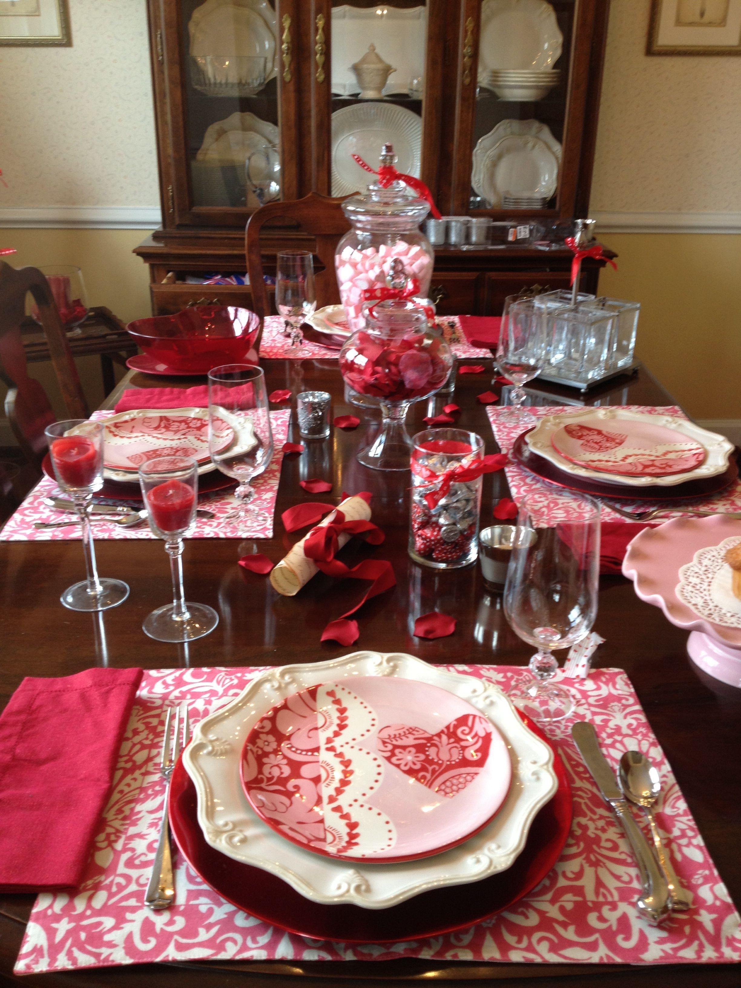 Magnificient Valentines Day Table Decorating Ideas41