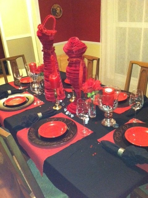 Magnificient Valentines Day Table Decorating Ideas44