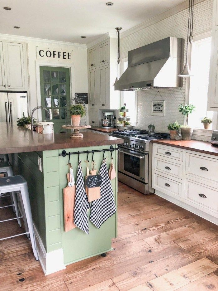 Pretty Farmhouse Kitchen Decoration Ideas02
