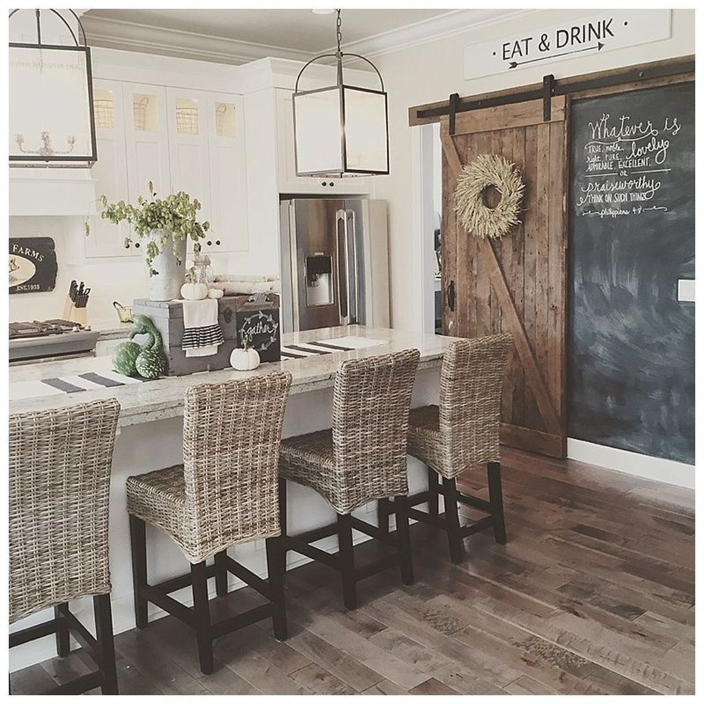 Pretty Farmhouse Kitchen Decoration Ideas05