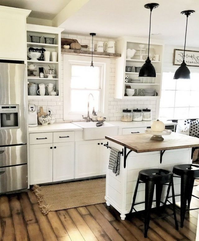 Pretty Farmhouse Kitchen Decoration Ideas12