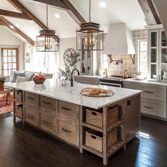 Pretty Farmhouse Kitchen Decoration Ideas28