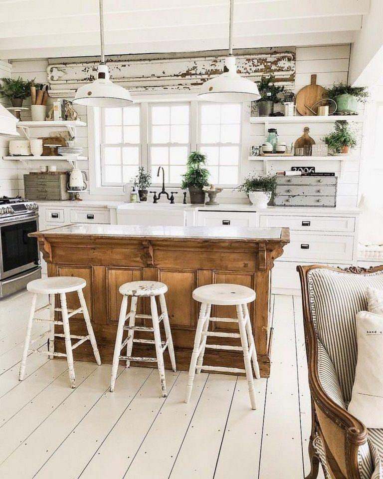 Pretty Farmhouse Kitchen Decoration Ideas29