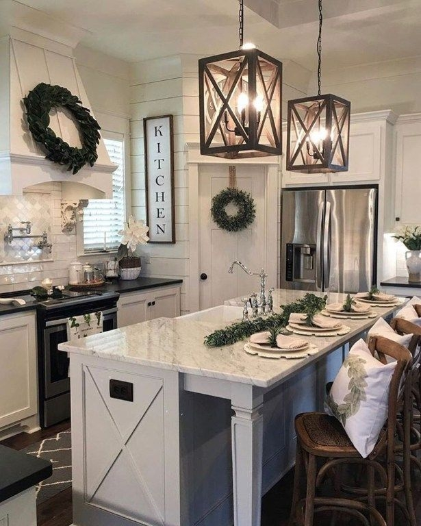 Pretty Farmhouse Kitchen Decoration Ideas30