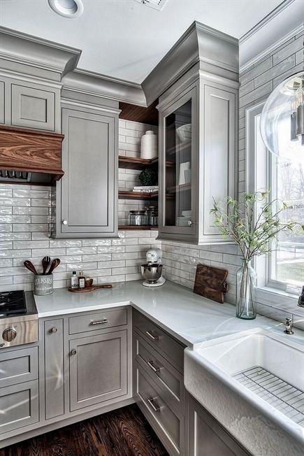 Pretty Farmhouse Kitchen Decoration Ideas35
