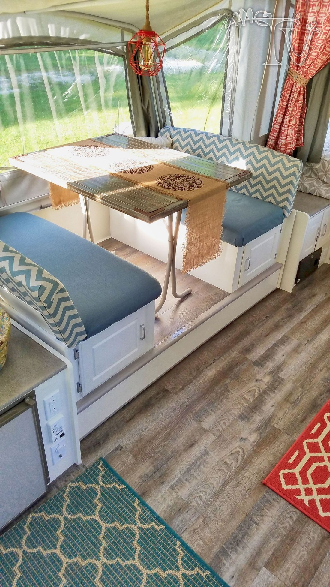 Smart Rv Hacks Table Remodel Ideas On A Budget32