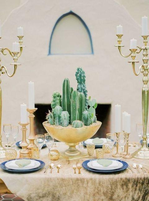 Wonderful Cactus Centerpieces Ideas01