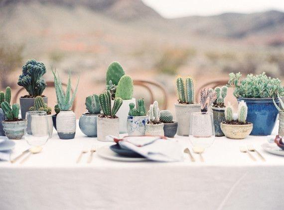 Wonderful Cactus Centerpieces Ideas38