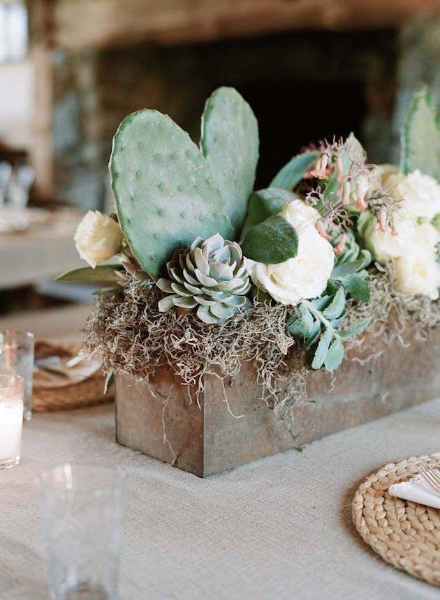 Wonderful Cactus Centerpieces Ideas41