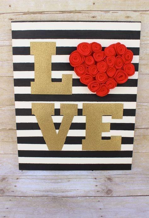 Wonderful Handmade Decorations Ideas For Valentines Day 10