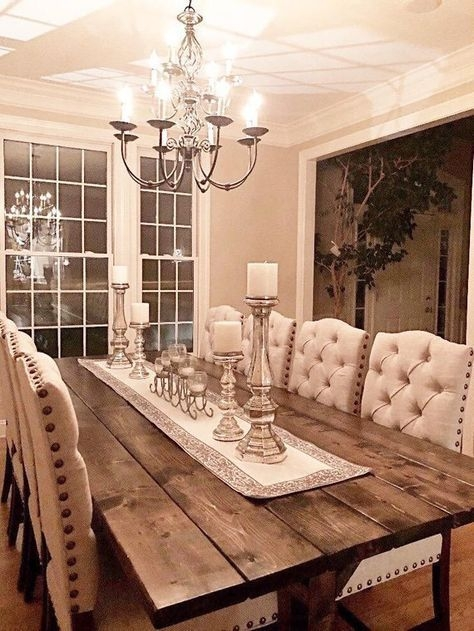 Adorable Farmhouse Dining Room Design Ideas06