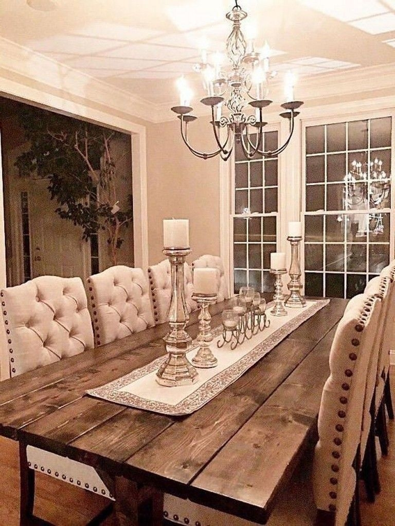 Adorable Farmhouse Dining Room Design Ideas09