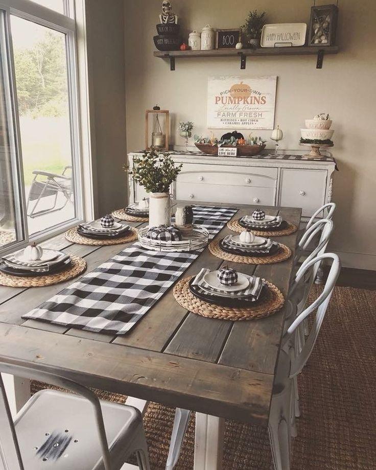 Adorable Farmhouse Dining Room Design Ideas22