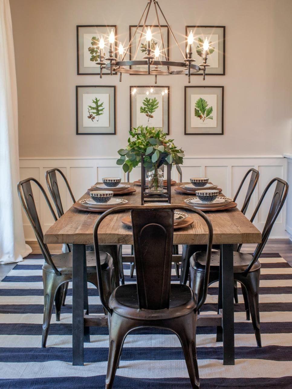 Adorable Farmhouse Dining Room Design Ideas28