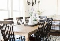 Adorable Farmhouse Dining Room Design Ideas41