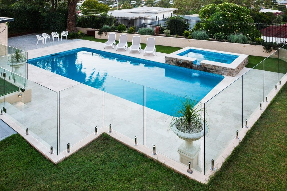 Amazing Glass Pool Design Ideas For Home06
