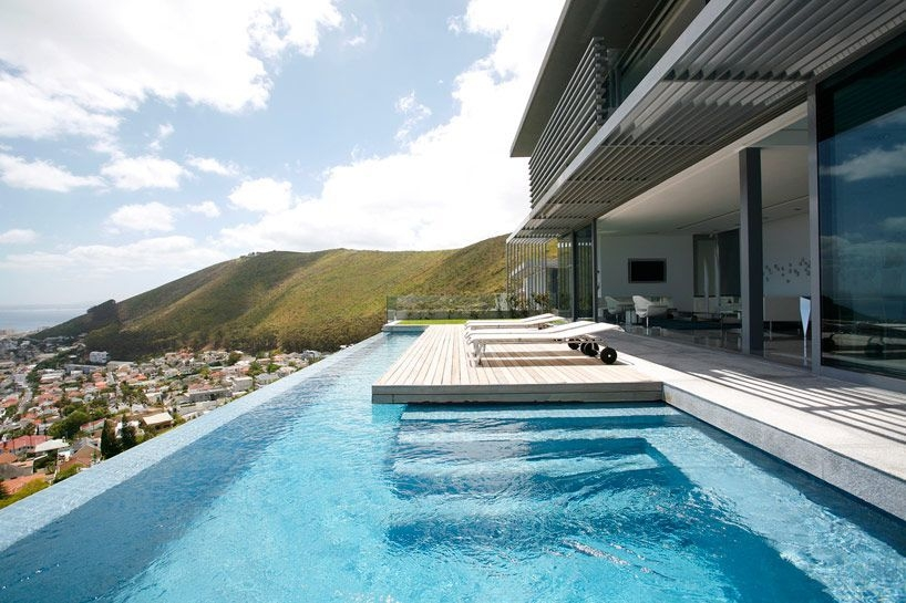 Amazing Glass Pool Design Ideas For Home10