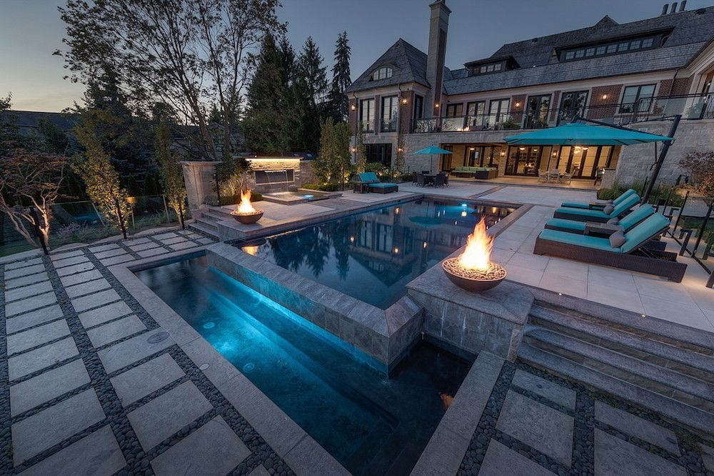 Amazing Glass Pool Design Ideas For Home13