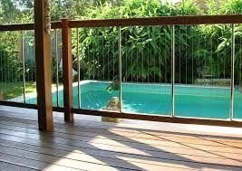 Amazing Glass Pool Design Ideas For Home20