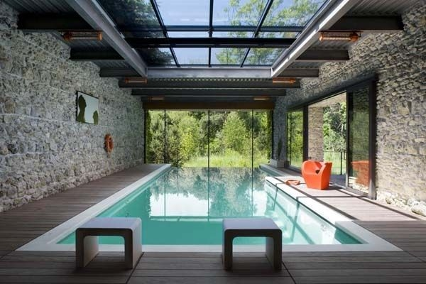 Amazing Glass Pool Design Ideas For Home29