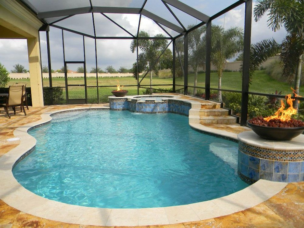Amazing Glass Pool Design Ideas For Home36