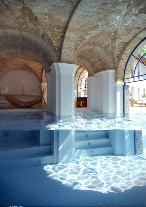 Amazing Glass Pool Design Ideas For Home39