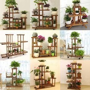 Awesome Stand Wooden Plant Ideas08
