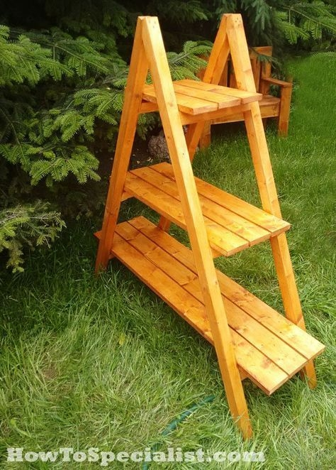 Awesome Stand Wooden Plant Ideas11
