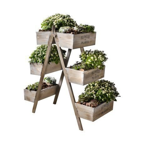 Awesome Stand Wooden Plant Ideas27
