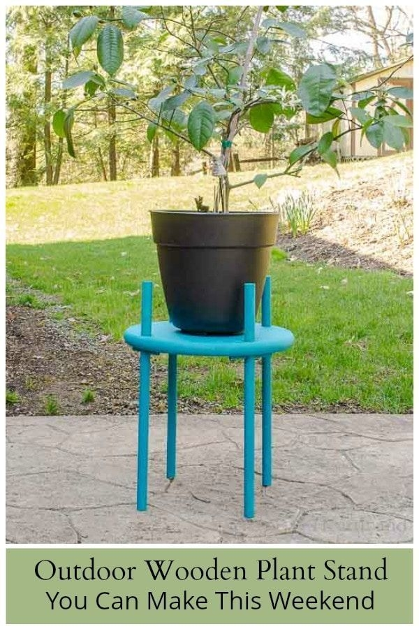 Awesome Stand Wooden Plant Ideas30