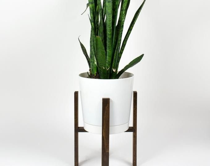 Awesome Stand Wooden Plant Ideas40