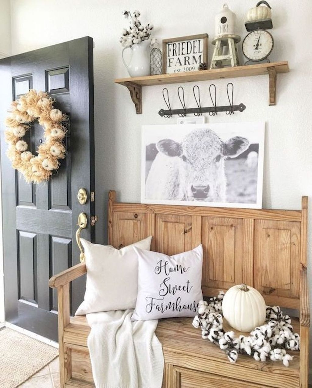 Beautiful Rustic Entryway Decor Ideas29