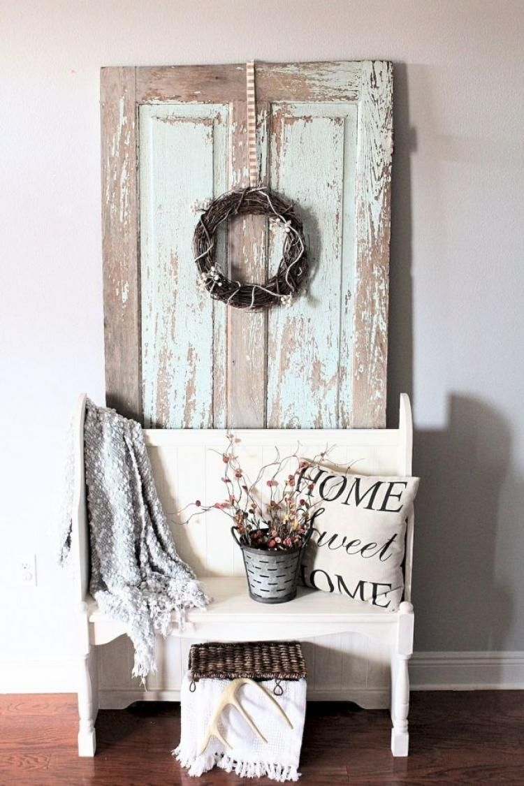 Beautiful Rustic Entryway Decor Ideas31
