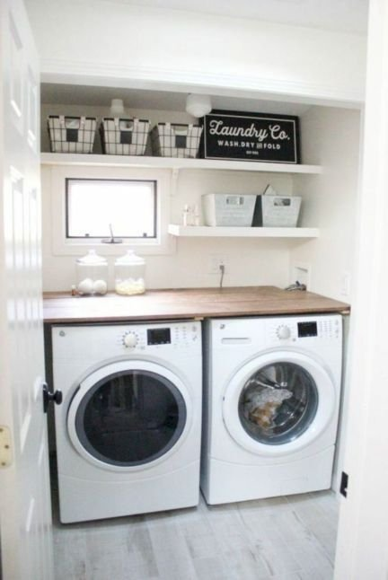 Brilliant Small Laundry Room Decor Ideas03