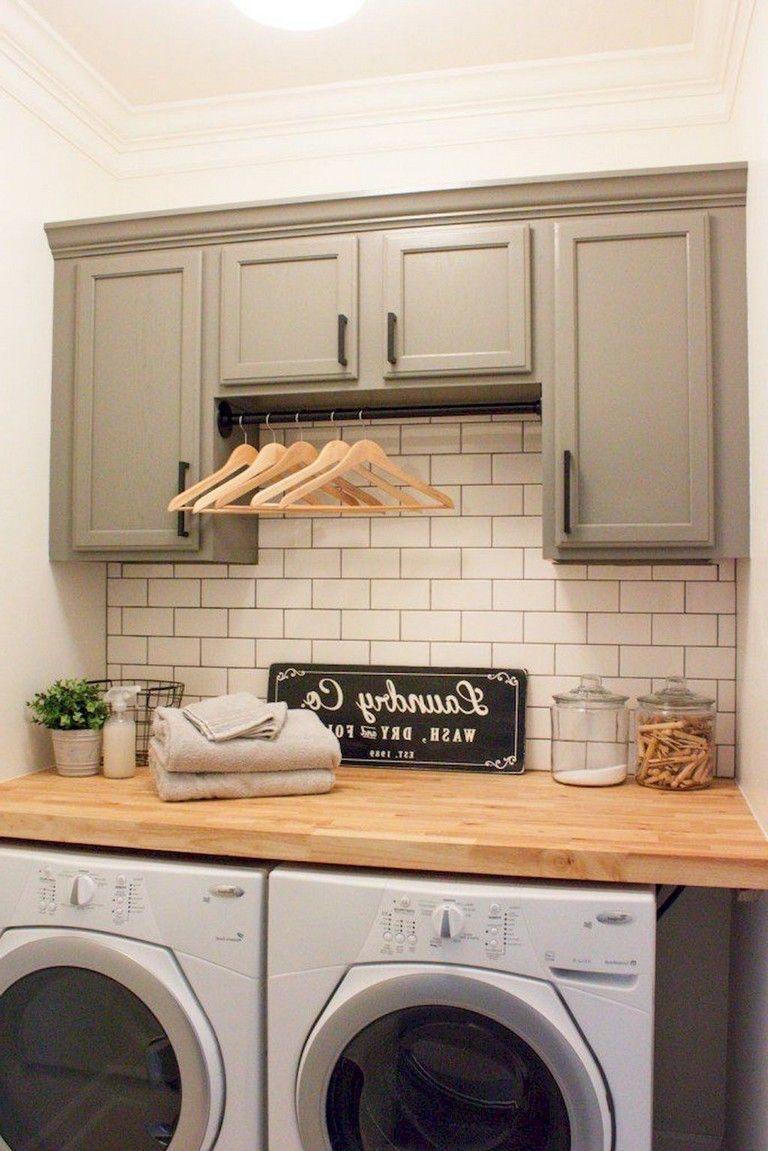Brilliant Small Laundry Room Decor Ideas05