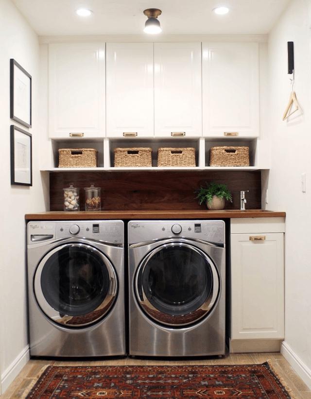 Brilliant Small Laundry Room Decor Ideas06