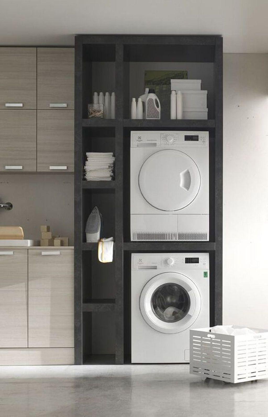 Brilliant Small Laundry Room Decor Ideas27