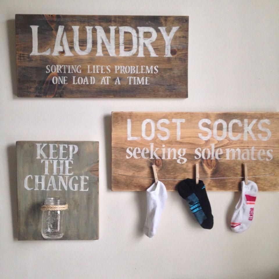 Brilliant Small Laundry Room Decor Ideas40