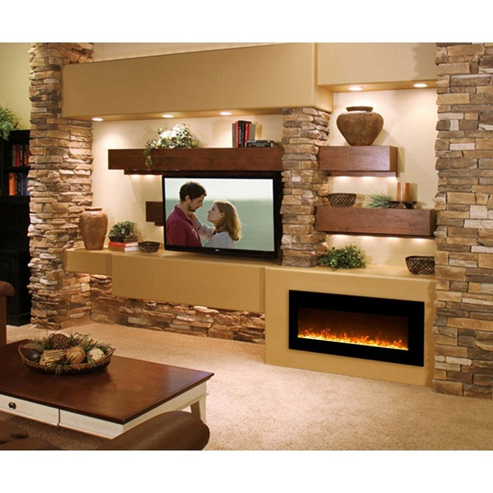 Cool Electric Fireplace Designs Ideas For Living Room22