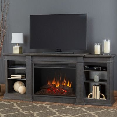 Cool Electric Fireplace Designs Ideas For Living Room36