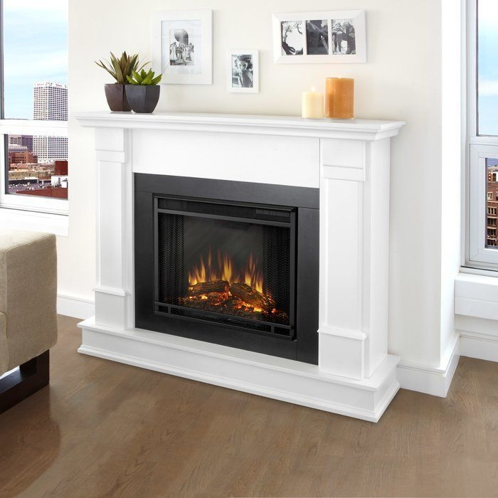 Cool Electric Fireplace Designs Ideas For Living Room37