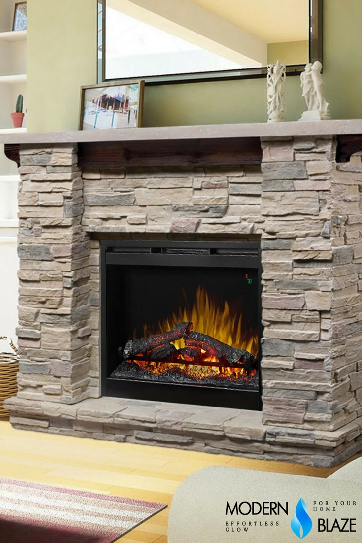 Cool Electric Fireplace Designs Ideas For Living Room43