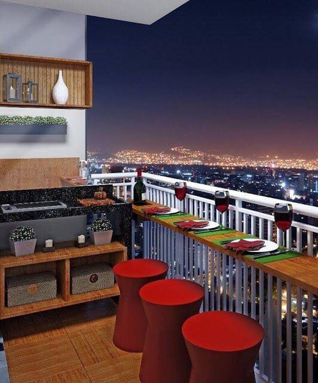 Enchanting Apartment Balcony Decorating Ideas22