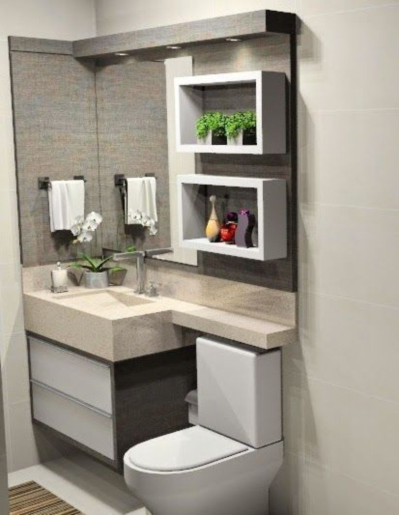 Incredible Small Bathroom Remodel Ideas22
