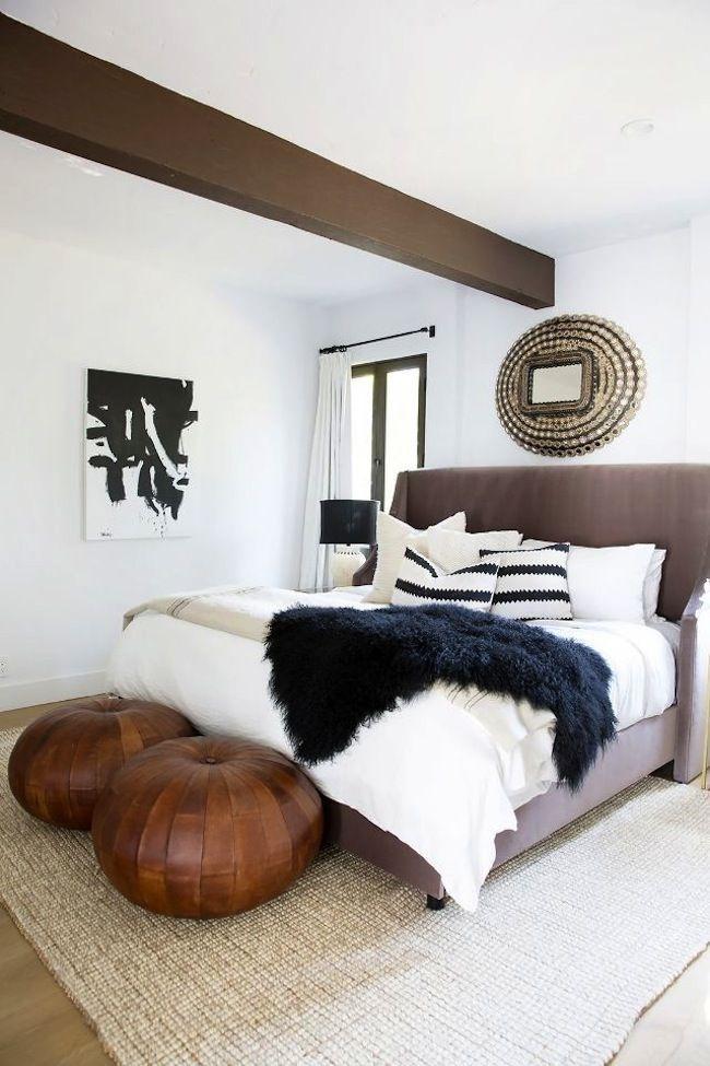 Lovely Masculine Boho Bedroom Designs01