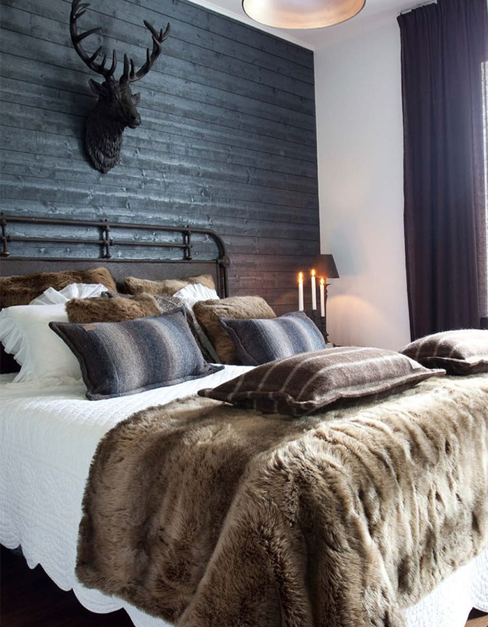 Lovely Masculine Boho Bedroom Designs07