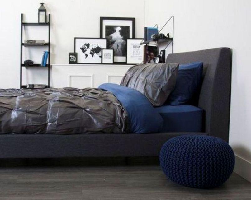 Lovely Masculine Boho Bedroom Designs19