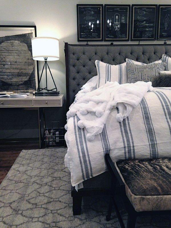 Lovely Masculine Boho Bedroom Designs30